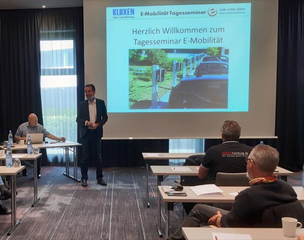 Seminar E-Mobilität von der Wallbox zum Anschluss im Stromnetz Hamburg